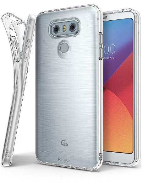 Etui Ringke Air LG G6 Rose Gold