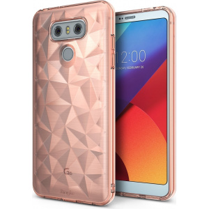 Etui Ringke Air LG G6 Rose Gold