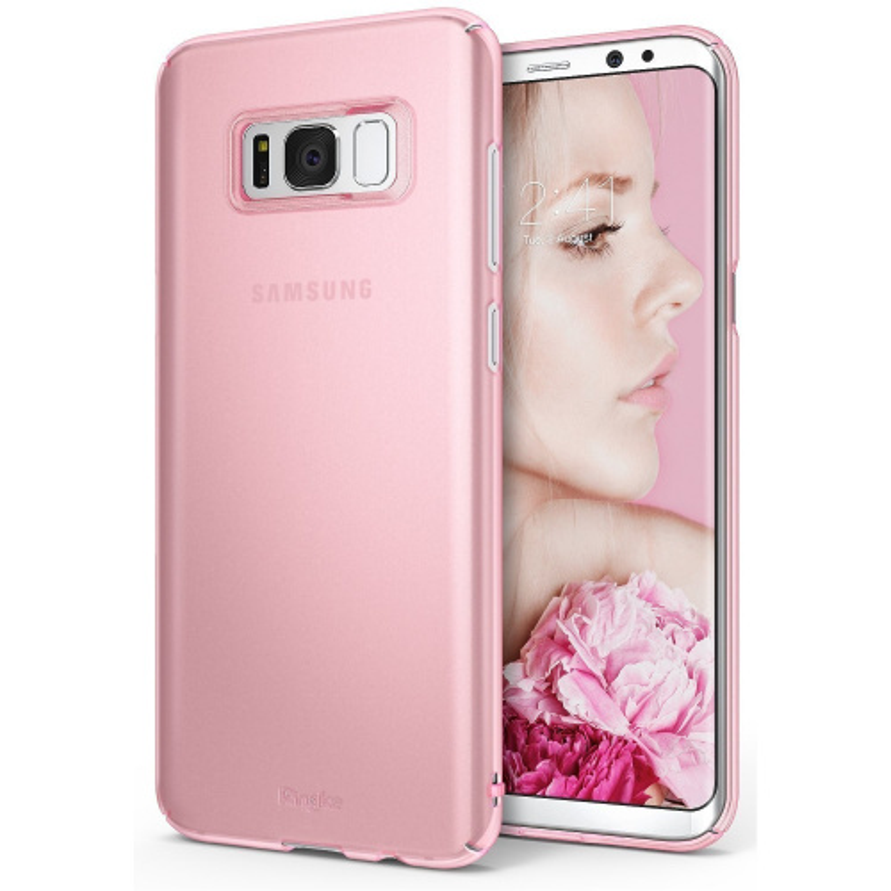 Etui Ringke Slim Samsung Galaxy S8 Plus Frost Pink