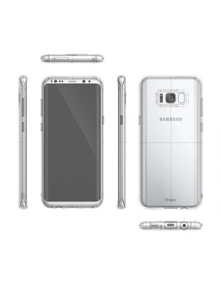 Etui Ringke Air Samsung Galaxy S8 Plus Smoke Black