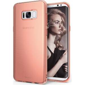Etui Ringke Air Samsung Galaxy S8 Plus Rose Gold