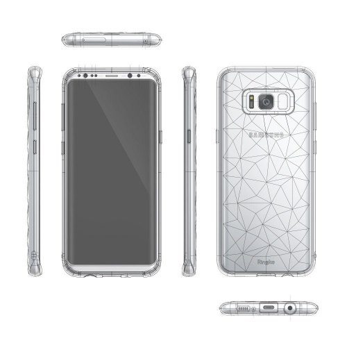 Etui Ringke Air Prism Samsung Galaxy S8 Plus Crystal View