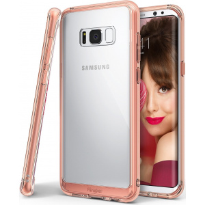 Ringke Fusion Samsung Galaxy S8 Plus Rose Gold Crystal