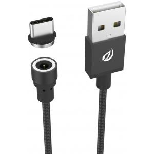 Wsken Round USB-C Black