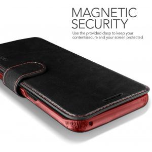 Etui VRS Design Layered Dandy Galaxy S8 Plus Black