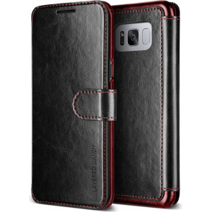 Etui VRS Design Layered Dandy Galaxy S8 Plus Black