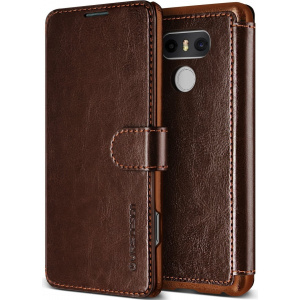 Etui VRS Design Layered Dandy LG G6 Brown