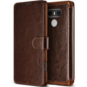 Etui VRS Design Layered Dandy LG G6 Brown