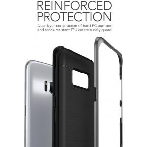 Etui VRS Design High Shield Pro Galaxy S8 Dark Silver