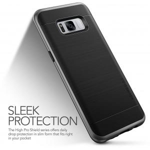 Etui VRS Design High Shield Pro Galaxy S8 Plus Dark Silver
