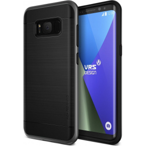 Etui VRS Design High Shield Pro Galaxy S8 Plus Dark Silver