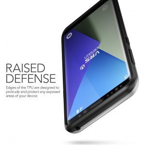 Etui VRS Design High Shield Pro Galaxy S8 Plus Light Silver