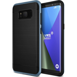 Etui VRS Design High Shield Pro Galaxy S8 Plus Blue Coral