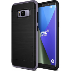 Etui VRS Design High Pro Shield Galaxy S8 Plus Orchid Gray