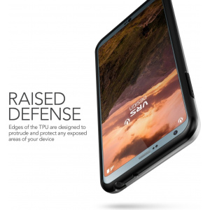 Etui VRS Design High Shield Pro LG G6 Light Silver