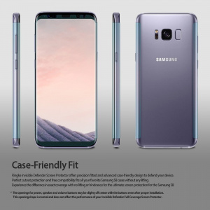 Folia Ringke Invisible Defender Samsung Galaxy S8 Full Cover