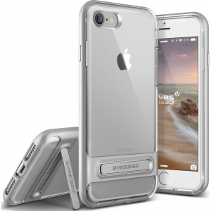 Etui VRS Design Crystal Bumper iPhone 7 Light Silver