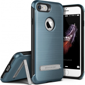 Etui VRS Design Duo Guard iPhone 7 Steel Blue