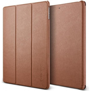 Etui VRS Design Saffiano K1 iPad 9.7 (2017) Brown
