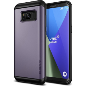 Etui VRS Design Hard Drop Samsung Galaxy S8 Orchid Gray