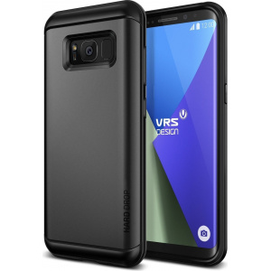 VRS Design Hard Drop Samsung Galaxy S8 Dark Silver