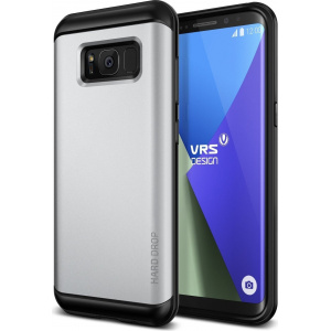 VRS Design Hard Drop Samsung Galaxy S8 Light Silver