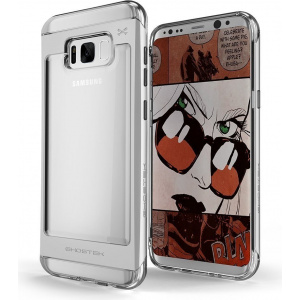 Etui Ghostek Cloak 2 Samsung Galaxy S8 Plus Silver + Folia 3D