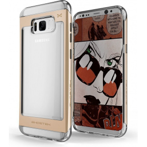 Ghostek Cloak 2 Samsung Galaxy S8 Gold + Screen Protector