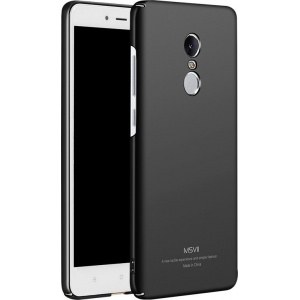 MSVII Xiaomi Redmi Note 4 Black + Screen Protector