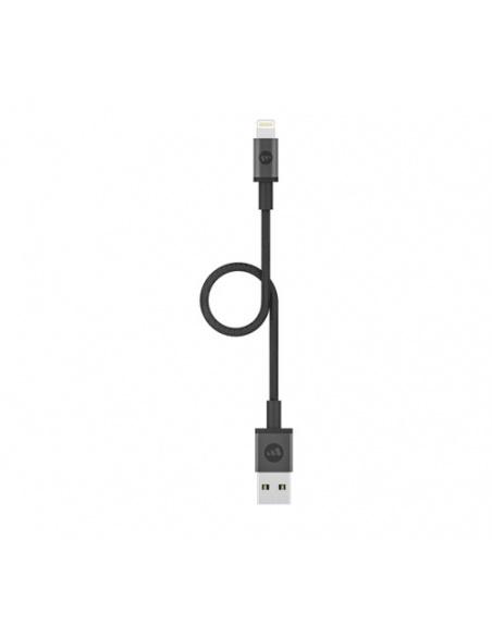 Kabel Mophie Lightning - USB-A 9cm (czarny)