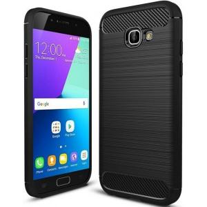 Etui HS Case SOLID TPU Samsung Galaxy A5 2017 Black + Szkło
