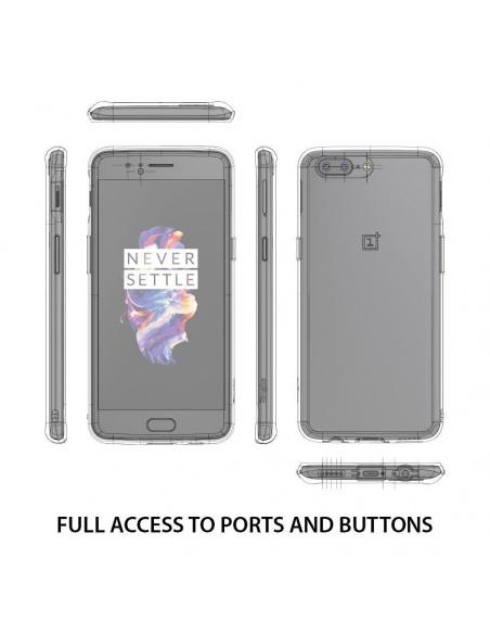 Etui Ringke Fusion OnePlus 5 Smoke Black