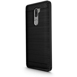 Etui HS Case SOLID TPU Xiaomi Mi5S Plus Black + Szkło