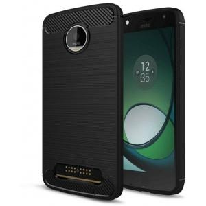 Etui HS Case SOLID TPU Moto Z Black + Szkło