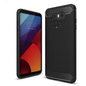 HS Case SOLID TPU LG G6 Black + Szkło