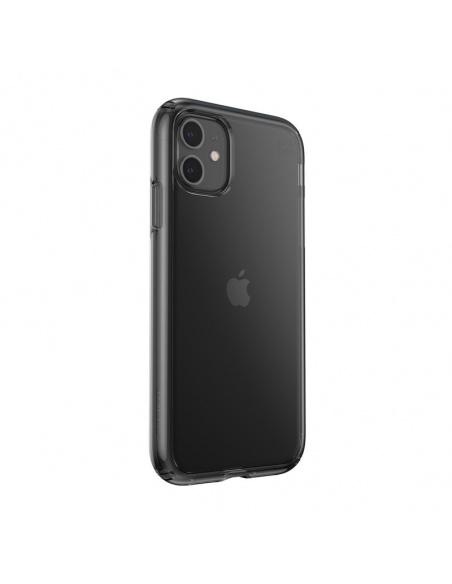 Etui Speck Presidio Perfect-Clear iPhone 11 z powłoką MICROBAN Obsidian