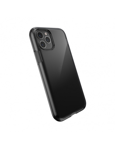 Etui Speck Presidio Perfect-Clear iPhone 11 Pro z powłoką MICROBAN Obsidian