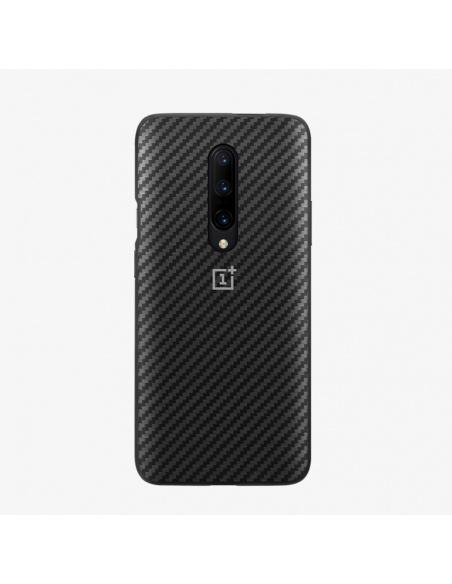 Etui OnePlus 7 Pro Karbon Bumper Case Czarne