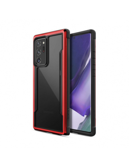 Etui aluminiowe X-Doria Raptic Shield Samsung Galaxy Note 20 Ultra (Drop test 3m) (Red)