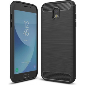 Etui HS Case SOLID TPU Samsung Galaxy J5 2017 Black + Szkło