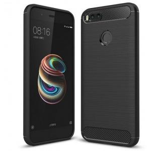 HS Case SOLID TPU Xiaomi Mi A1/5X Black + Screen Protector