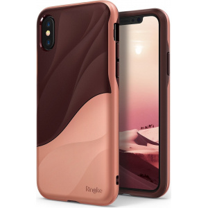 Etui Ringke Wave iPhone X Rose Blush