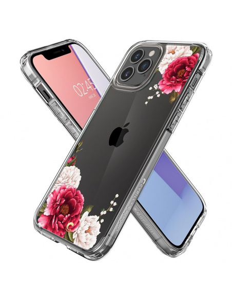 Spigen Cyrill Cecile Apple iPhone 12 Pro Max Red Floral