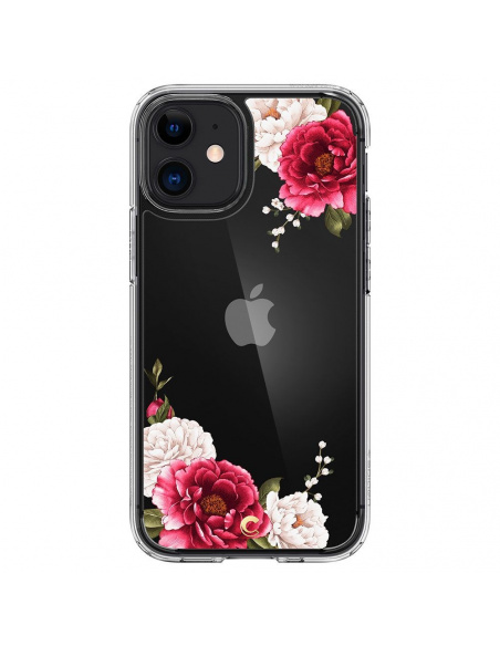 Spigen Cyrill Cecile Apple iPhone 12 Mini Red Floral