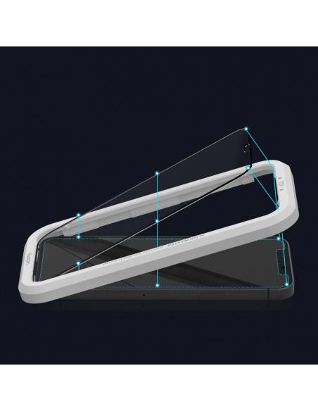 Spigen GLAS.tR AlignMaster Apple iPhone 12 Pro Max Black [2 PACK]
