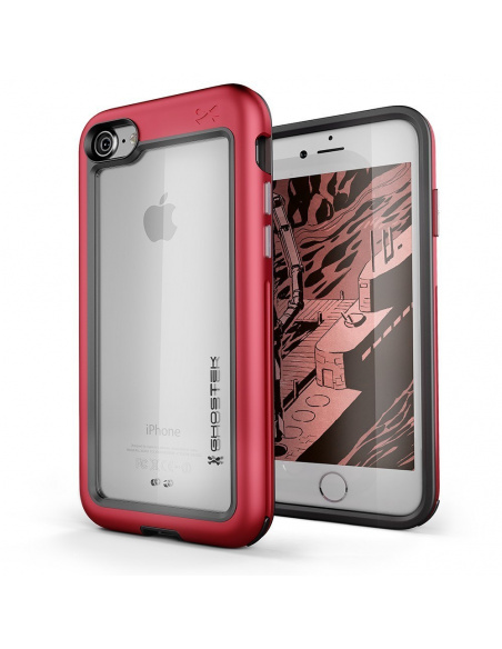 Etui Ghostek Atomic Slim iPhone 8/7 Red