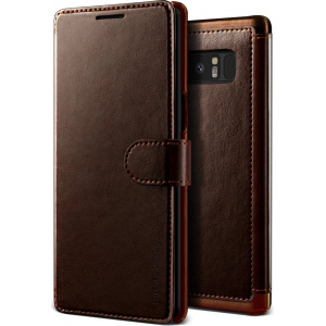 Etui VRS Design Layered Dandy Galaxy Note 8 Brown