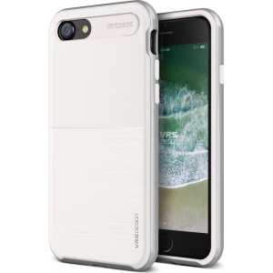 VRS Design High Pro Shield S iPhone 8/7 White Silver