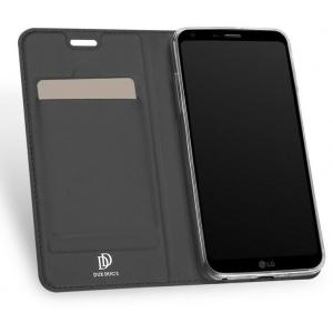 DuxDucis SkinPro LG Q6 Gray + Screen Protector