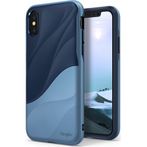 Etui Ringke Wave iPhone X Coastal Blue